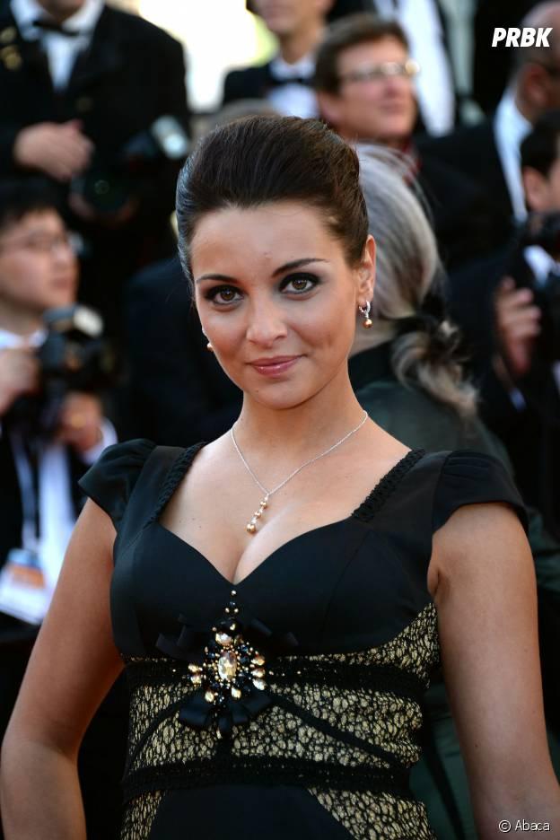 Priscilla Betti magnifique sur le tapis rouge du Festival de Cannes, le 15 mai 2014