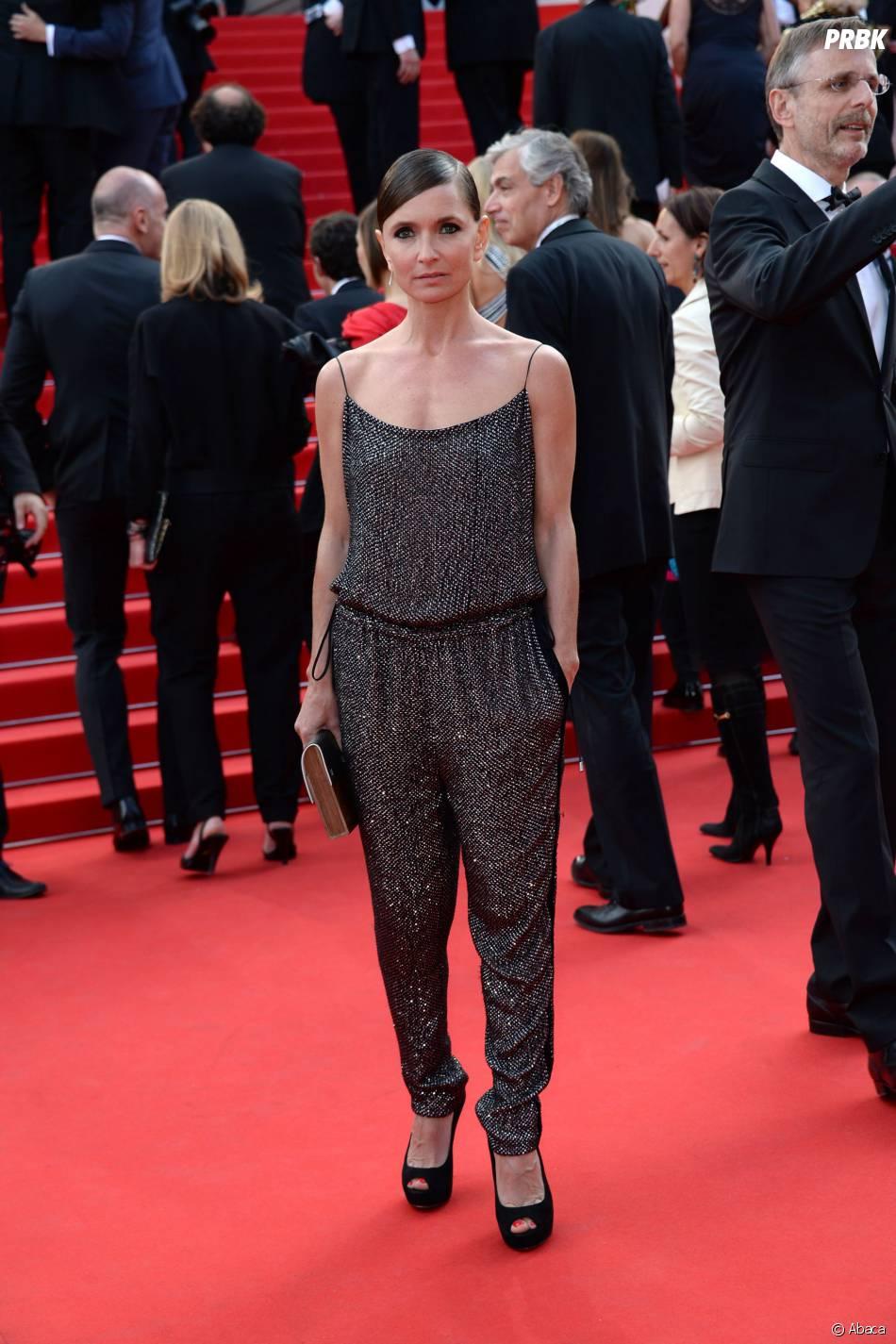 Axelle Laffont sur le tapis rouge du Festival de Cannes 2014, le vendredi 16 mai