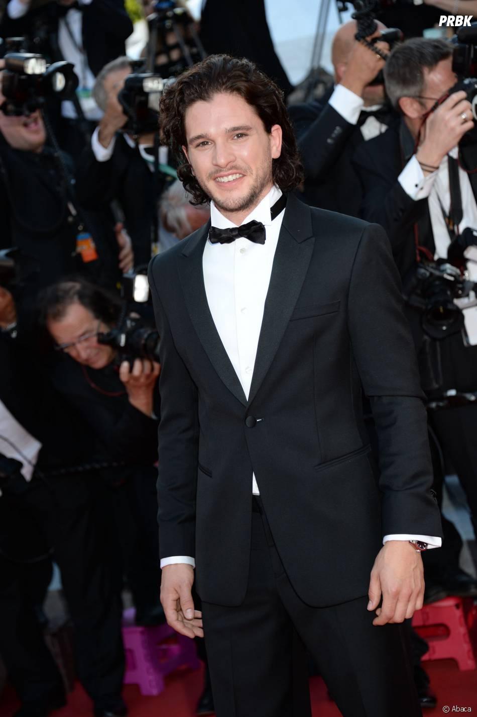 Kit Harington sur le tapis rouge du Festival de Cannes 2014, le vendredi 16 mai