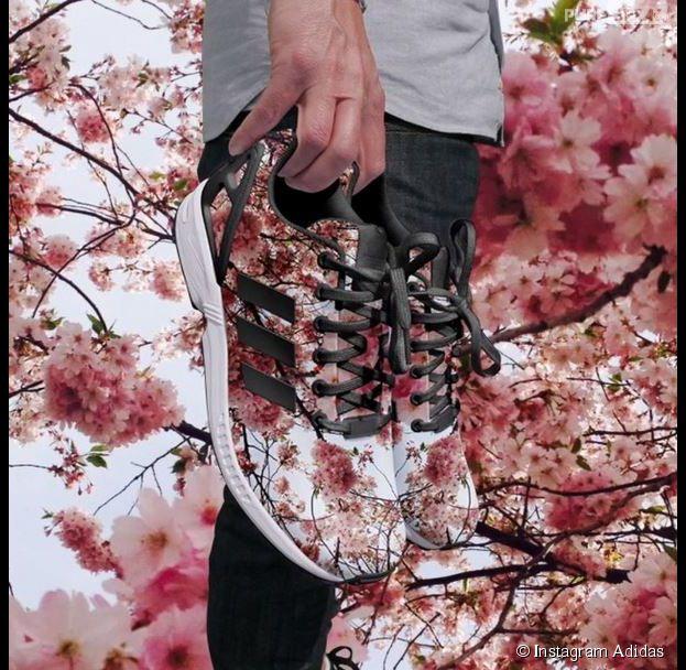 Adidas lance l'Adidas Photo Print, une application qui permet d'imprimer des clichés pris avec Instagram sur ses baskets