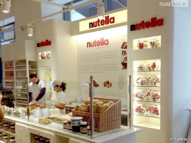 Un bar à Nutella va ouvrir ses portes en France