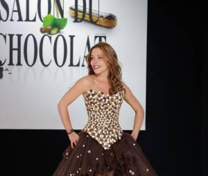 Dounia Coesens invitée du prime de Nos Chers Voisins, le 30 mai 2014