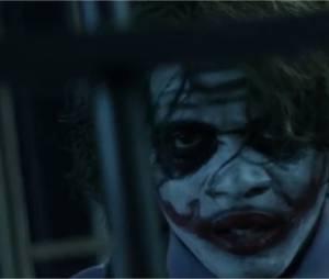 """Black M en Joker (Batman) dans le clip Sur ma route, extrait de l'album """"Les Yeux plus gros que le monde"""""""