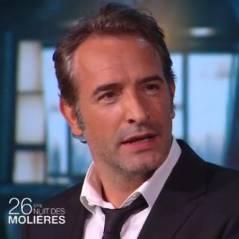 """Jean Dujardin s'incruste aux Molières 2014 et se fait """"virer"""" par Nicolas Bedos"""