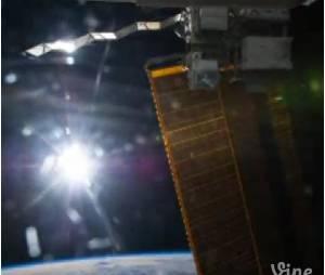 Le premier Vine de l'espace