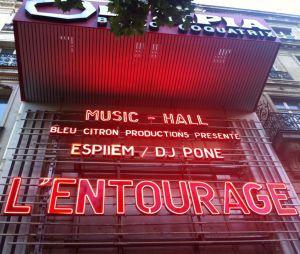 L'Entourage : 1995, le S-Crew, Deen Burbigo, Jazzy Bazz, EffGee, Doum's en concert à l'Olympia le 14 juib 2014