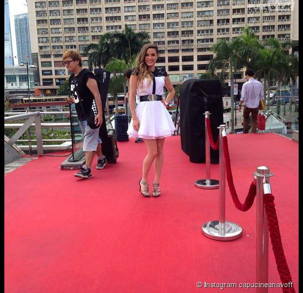 Capucine Anav demandée en mariage par Stanley Tucci, acteur d'Hunger Games à Hong Kong