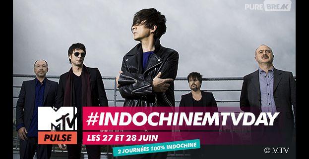 #INDOCHINEMTVDAY le 27 et 28 juin sur MTV PULSE