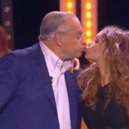 Nabilla Benattia embrasse Gérard Louvin en direct dans Touche pas à mon poste