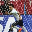 Mathieu Valbuena pendant le match de la France face à la Suisse, le 20 juin dans le cadre du Mondial 2014
