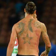 Zlatan, Caroline Receveur, Swagg Man... ces stars qui ont osé les tatouages XXL