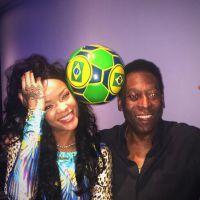 Rihanna : arrivée sexy et remarquée au Brésil pour la finale du Mondial