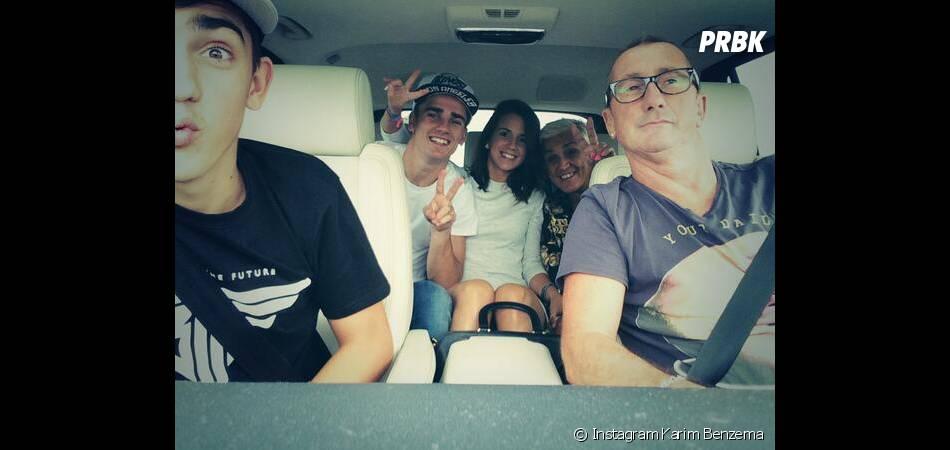 Antoine Griezmann et ses proches en route pour la Turquie après le Mondial 2014