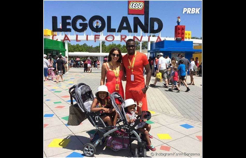 Blaise Matuidi et sa famille en Californie après le Mondial 2014