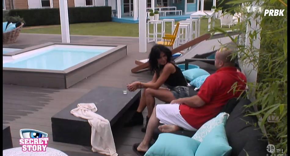 Secret Story 8 : Abdel discute avec Nathalie