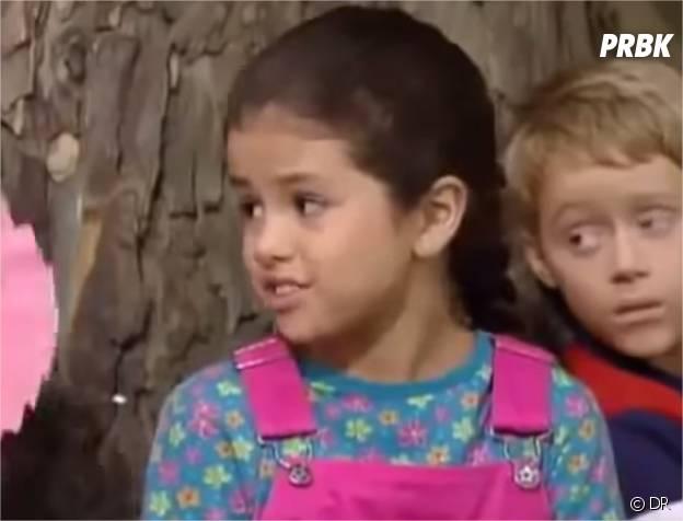 Selena Gomez en 2002 dans la série Barney and Friends