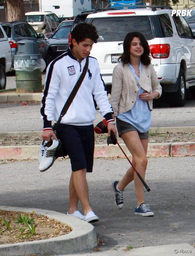 Selena Gomez et Nick Jonas en 2008