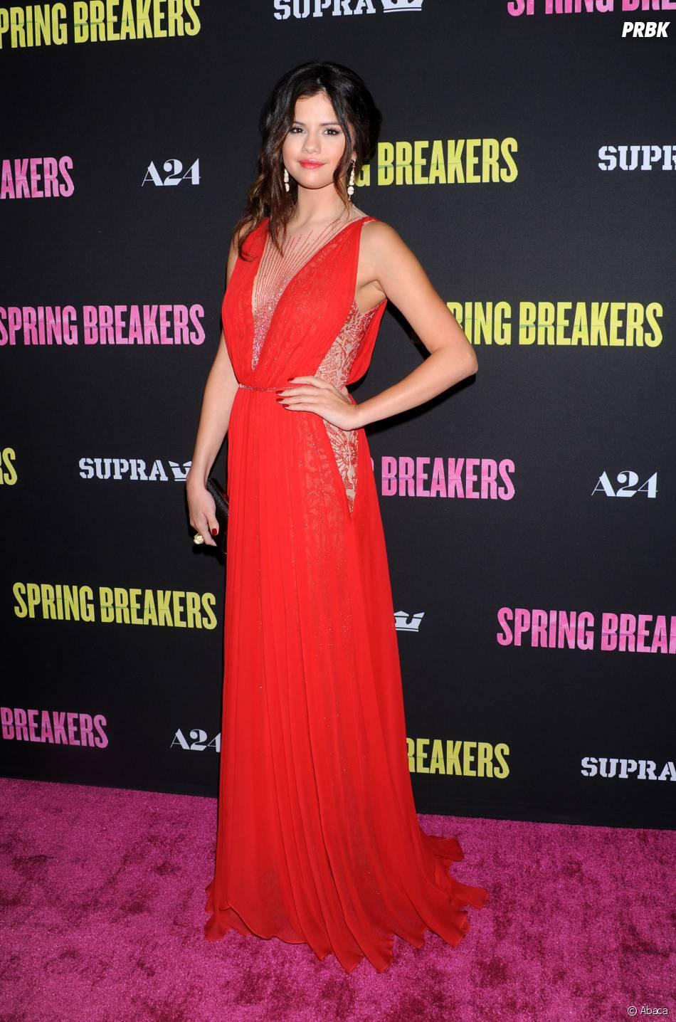 Selena Gomez à une avant-première du film Spring Breakers