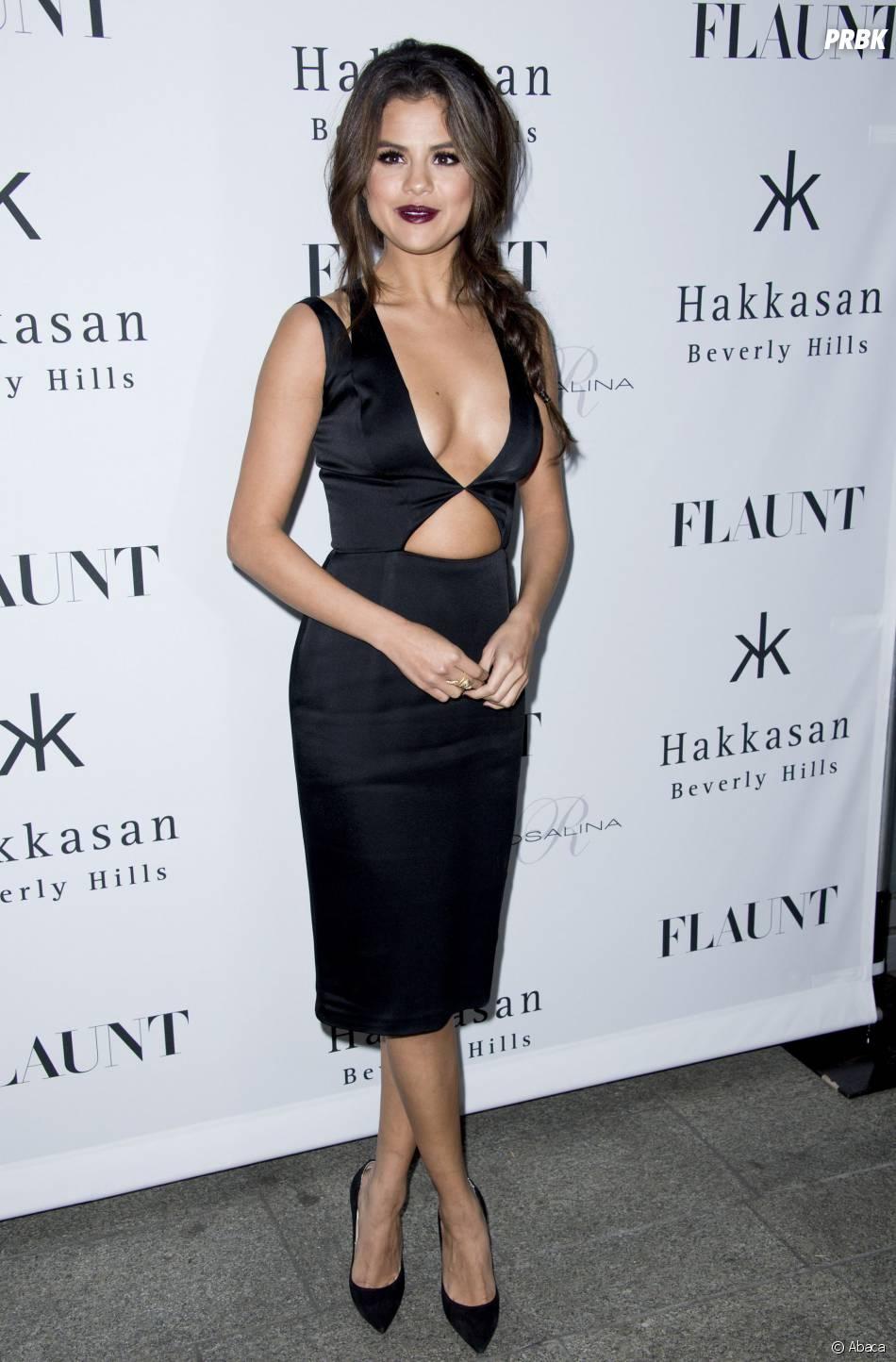 Selena Gomez sexy à une soirée en 2014