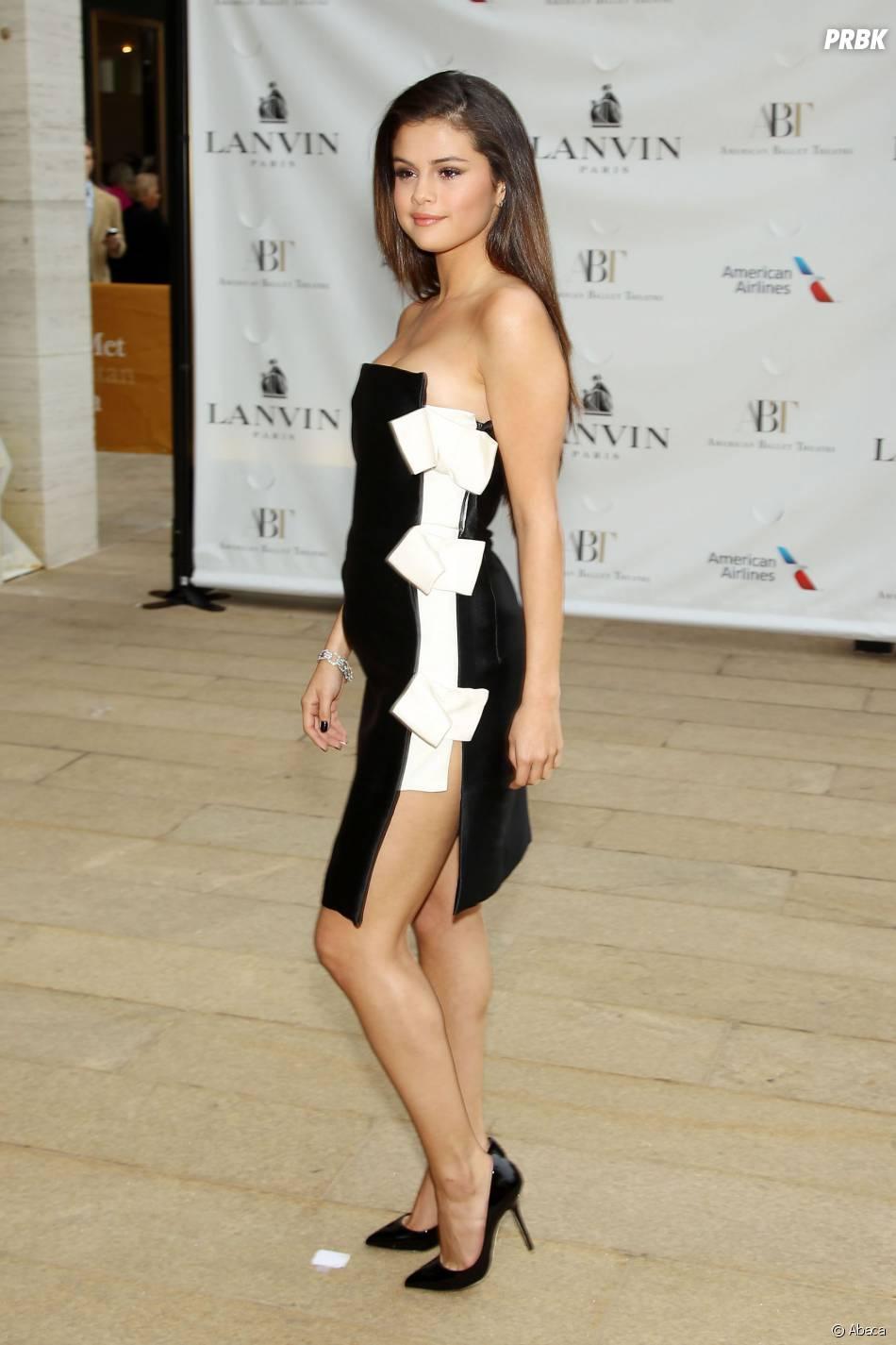 Selena Gomez en 2014 au défilé Lanvin