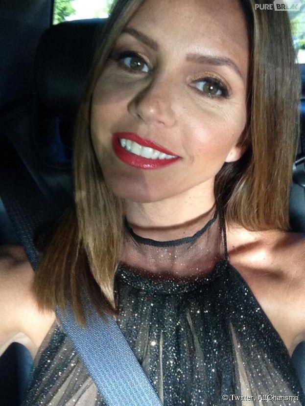 Charisma Carpenter : selfie de soirée sur Twitter