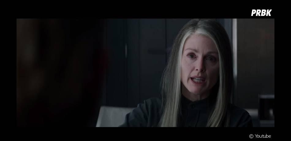 Hunger Games 3 : Juliane Moore (Coin) doute du personnage de Jennifer Lawrence