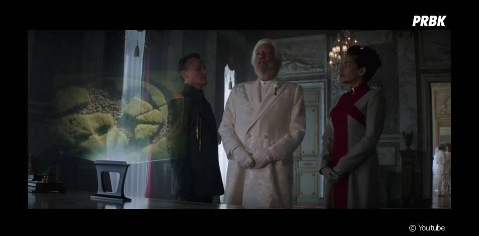 Le Président Snow interdit le symbole du geai moqueur dans la bande-annonce d'Hunger Games 3