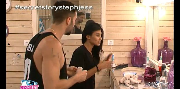 Secret Story 8 : Jessica et Steph buzzés