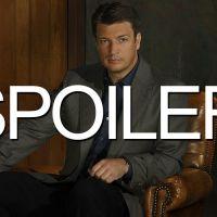 """Castle saison 7 : Nathan Fillion """"pas très inquiet"""" pour Rick"""