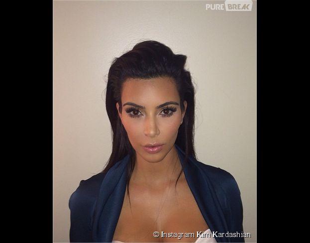 Kim Kardashian : sa nouvelle photo de passeport très décolletée