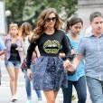 Nina Dobrev dans les rues de New York le 4 août 2014