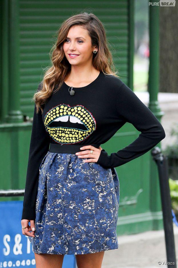 Nina Dobrev : en promo pour son film Let's Be Cops, elle revient sur les rumeurs de couple