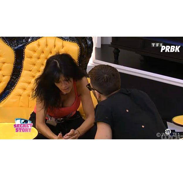 Secret Story 8 : Nathalie fait une alliance avec Steph dans la Maison des Secrets