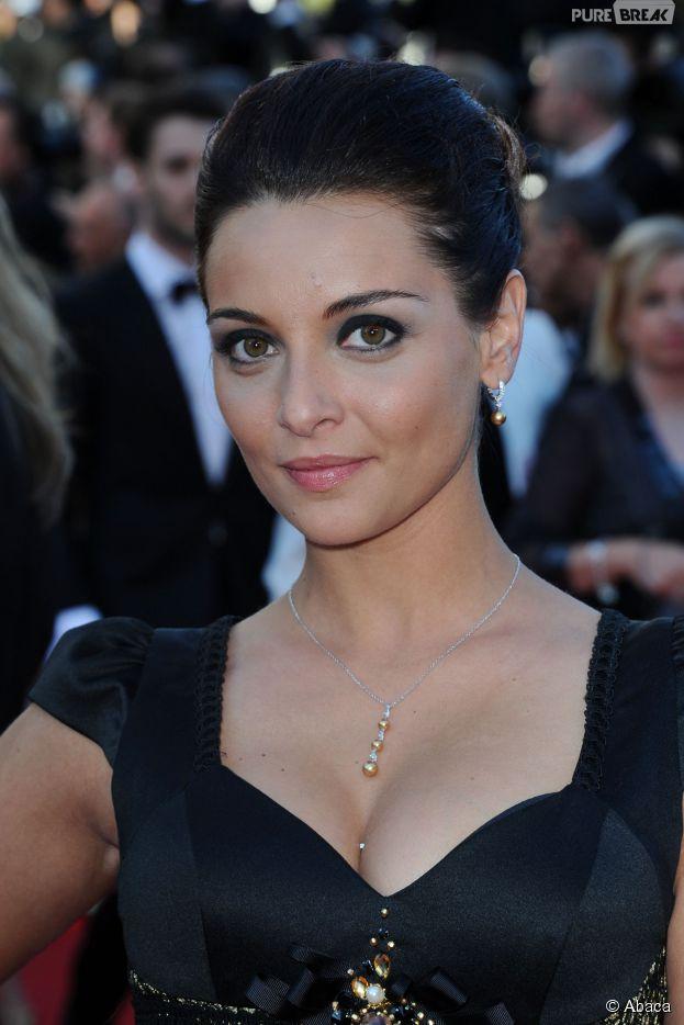 Priscilla Betti sublime sur le tapis rouge du Festival de Cannes, le 15 mai 2014