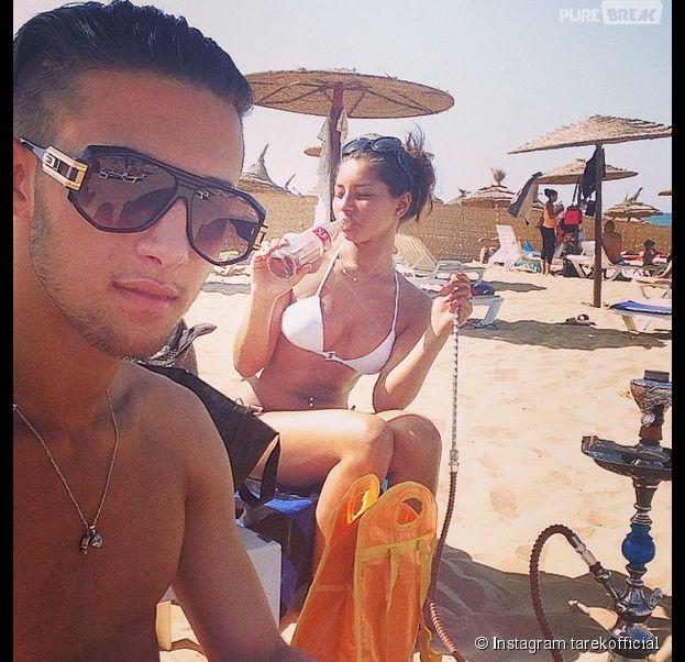 Tarek Benattia et Kenza sexy pendant leurs vacances