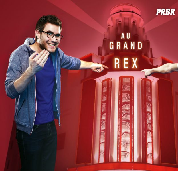 Cyprien Gaming Show : Cyprien et Squeezie envahissent Le Grand Rex le temps d'une soirée, le 6 septembre 2014