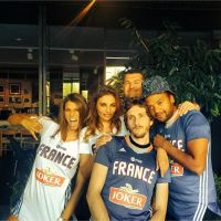 Laury Thilleman, Baptiste Lecaplain... : supporters VIP des Bleus au basket