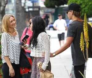 Vanessa Hudgens, Austin Butler et sa maman Lori