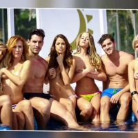 LCDLJS : Adixia, Hillary, Gaëlle, Vanessa et Sophie topless, les mecs en string
