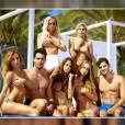 Les Ch'tis dans la Jet Set : Hillary, Gaëlle, Vanessa, Sophie et Adixia topless