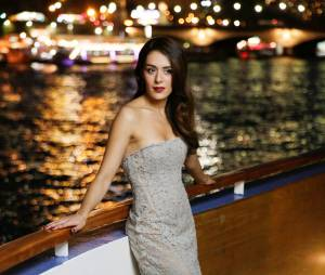 Sofia Essaïdi à la soirée Forever Gentlemen 2 à Paris, le 1er octobre 2014