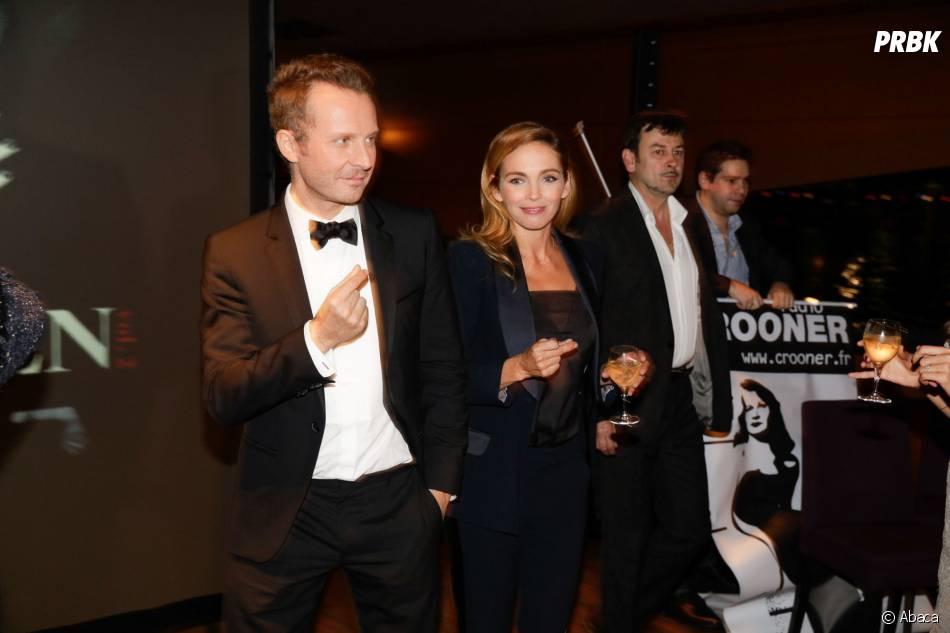 Sinclair et Claire Keim à la soirée Forever Gentlemen 2 à Paris, le 1er octobre 2014
