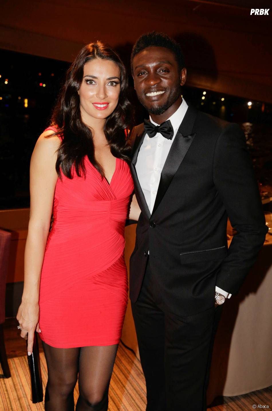 Corneille et sa femme à la soirée Forever Gentlemen 2 à Paris, le 1er octobre 2014