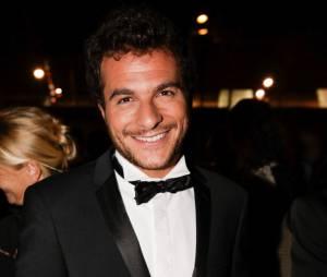 Amir (The Voice) à la soirée Forever Gentlemen 2 à Paris, le 1er octobre 2014