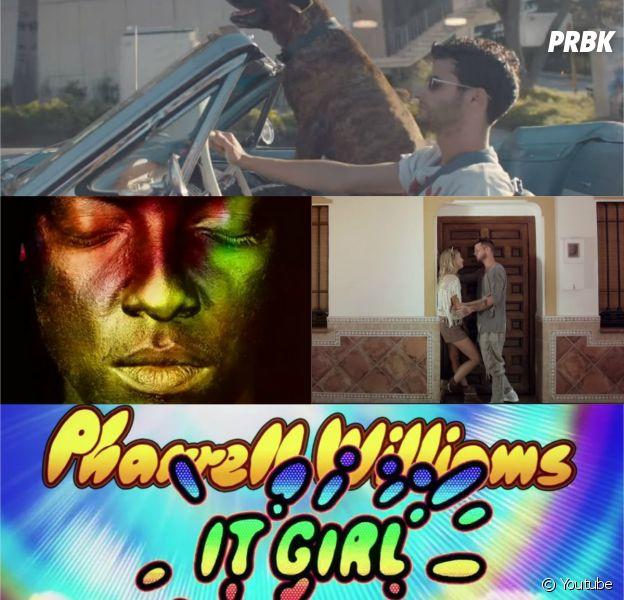 Soprano, Pharrell Williams, Adrien Gallo, Lacrim et Keen'V : les clips à ne pas manquer de la semaine du 29 septembre 2014