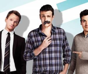 Les meilleures bromance dans les séries : Ted, Marshall et Barney dans How I Met Your Mother