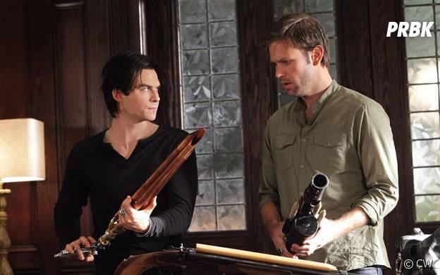Les meilleures bromance dans les séries : Damon et Alaric dans The Vampire Diaries