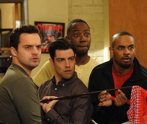 Les meilleures bromance dans les séries : Schmidt, Nick, Winston et Coach dans New Girl