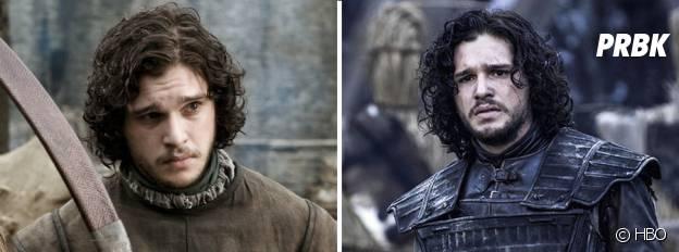 Les personnages avant / après