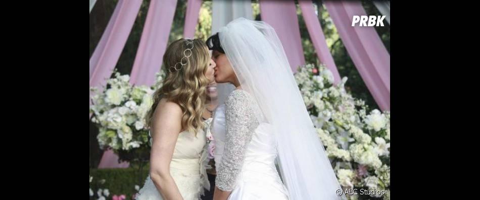 Grey's Anatomy saison 11 : le mariage de Callie et Arizona en danger